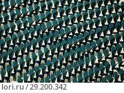 Купить «Rows of folding chairs at the outdoor theater», фото № 29200342, снято 27 июля 2017 г. (c) Сергей Новиков / Фотобанк Лори
