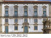 Купить «Bishop's palace (1737), Porto, Portugal.», фото № 29202262, снято 9 апреля 2018 г. (c) age Fotostock / Фотобанк Лори