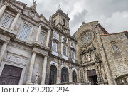 Купить «Sao Francisco church, Porto, Portugal.», фото № 29202294, снято 9 апреля 2018 г. (c) age Fotostock / Фотобанк Лори