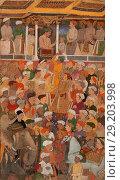 Купить «Jahangir's Darbar, from the Jahangir-nama», фото № 29203998, снято 27 июня 2019 г. (c) age Fotostock / Фотобанк Лори
