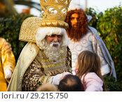 Купить «Meeting of King Melchor», фото № 29215750, снято 5 января 2017 г. (c) Яков Филимонов / Фотобанк Лори