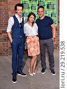 Sabin Tambrea, Alice Dwyer, Tom Wlaschiha at Hugo by Hugo Boss fashion... (2018 год). Редакционное фото, фотограф AEDT / WENN.com / age Fotostock / Фотобанк Лори