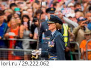 Купить «Celebrations for RAF100 began on 1 April 2018 when the Royal Air Force turned one-hundred One-hundred days later, the 10 July, as part of the main celebrations...», фото № 29222062, снято 10 июля 2018 г. (c) age Fotostock / Фотобанк Лори