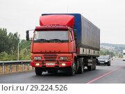 Купить «Altkam 5443 (Kamaz 5425MA)», фото № 29224526, снято 20 августа 2011 г. (c) Art Konovalov / Фотобанк Лори