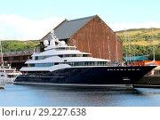 Купить «Superyacht Amaryllis berthed at James Watt Dock Marina in Greenock, Scotland Featuring: Superyacht Amaryllis Where: Greenock, Inverclyde, United Kingdom When: 20 Jul 2017 Credit: WENN.com», фото № 29227638, снято 20 июля 2017 г. (c) age Fotostock / Фотобанк Лори