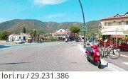 Купить «Hyperlapse street in Marmaris, Turkey. Resort city, sunny day. Tourists walk. Timelapse», видеоролик № 29231386, снято 20 октября 2018 г. (c) Сергей Тимофеев / Фотобанк Лори
