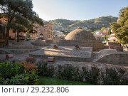 Купить «Sulfur baths, Tbilisi», фото № 29232806, снято 3 октября 2018 г. (c) Юлия Бабкина / Фотобанк Лори