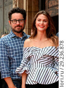 Купить «Keri Russell honoured with a star ceremony on the Hollywood Walk of Fame in Los Angeles Featuring: JJ Abrams, Keri Russell Where: Los Angeles, California...», фото № 29236878, снято 30 мая 2017 г. (c) age Fotostock / Фотобанк Лори