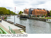 Купить «Klaipeda Lithuania a popular cruise ship destination on the Baltic Sea.», фото № 29239650, снято 26 августа 2018 г. (c) age Fotostock / Фотобанк Лори