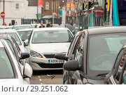 Купить «A bus driver has reportedly been taken into custody after crashing into approximately 20 cars on Hythe Street, Dartford this evening. The incident happened...», фото № 29251062, снято 29 мая 2018 г. (c) age Fotostock / Фотобанк Лори