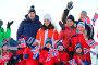 Купить «The Duke and Duchess of Cambridge attend an event organised by the Norwegian Ski Federation in Ovresetertjern where they watch nursery children taking...», фото № 29258454, снято 2 февраля 2018 г. (c) age Fotostock / Фотобанк Лори