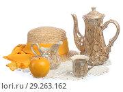 Натюрморт с чайником. Стоковое фото, фотограф Целоусов Дмитрий Геннадьевич / Фотобанк Лори