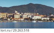 Купить «Ajaccio port, seaside view. Corsica», фото № 29263518, снято 30 июня 2015 г. (c) EugeneSergeev / Фотобанк Лори