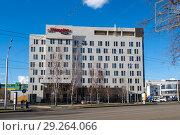 Купить «Отель Hampton by Hilton Ufa в Уфе», фото № 29264066, снято 29 апреля 2018 г. (c) Коротнев / Фотобанк Лори