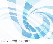 Купить «Blue spirals background pattern. Abstract 3d», иллюстрация № 29270882 (c) EugeneSergeev / Фотобанк Лори