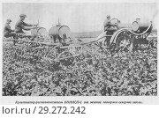 Купить «Культиватор-растениепитатель ВНИИСП-С для жидкой подкормки сахарной свеклы», иллюстрация № 29272242 (c) Макаров Алексей / Фотобанк Лори
