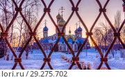 Купить «The Holy Resurrection Monastery is a functioning monastery of the Russian Orthodox Church.», фото № 29275702, снято 10 февраля 2016 г. (c) Акиньшин Владимир / Фотобанк Лори