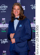 Купить «2018 NHL Awards Red Carpet at Hard Rock Hotel and Casino Las Vegas Featuring: Dylan Playfair Where: Las Vegas, Nevada, United States When: 21 Jun 2018 Credit: Judy Eddy/WENN.com», фото № 29284950, снято 21 июня 2018 г. (c) age Fotostock / Фотобанк Лори