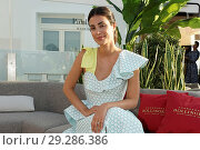 Купить «Alessandra de Osma, aka Sassa, wife of Cristián de Hannover, attends the 'Life Can Be Perfect' party at NH Gran Via Hotel Featuring: Alessandra de Osma...», фото № 29286386, снято 19 июня 2018 г. (c) age Fotostock / Фотобанк Лори