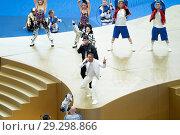 Купить «2018 FIFA World Cup Final: France v Croatia Featuring: Will Smith, Nicky Jam, Era Istrefi Where: Moscow, Russian Federation When: 15 Jul 2018 Credit: Anthony Stanley/WENN.com», фото № 29298866, снято 15 июля 2018 г. (c) age Fotostock / Фотобанк Лори