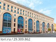 Центральный детский магазин на Лубянке. Москва (2018 год). Редакционное фото, фотограф Александр Щепин / Фотобанк Лори