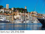 Купить «Old Port of Cannes», фото № 29316594, снято 3 декабря 2017 г. (c) Яков Филимонов / Фотобанк Лори
