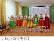 Folk dances of children theme (2017 год). Редакционное фото, фотограф Владимир Петров / Фотобанк Лори