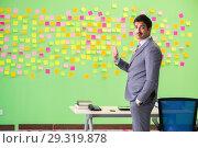 Купить «Businessman with many conflicting priorities», фото № 29319878, снято 24 мая 2018 г. (c) Elnur / Фотобанк Лори