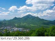 Domes of mountain Beshtau. Стоковое фото, фотограф Юлия Белоусова / Фотобанк Лори