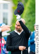Купить «BMW PGA Championship 2018 Featuring: Pep Guardiola Where: Virginia Drive, Surrey, United Kingdom When: 23 May 2018 Credit: PRiME Media/WENN.com», фото № 29363418, снято 23 мая 2018 г. (c) age Fotostock / Фотобанк Лори