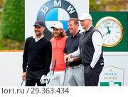 Купить «BMW PGA Championship 2018 Featuring: Peter Schmeichel, Matt Le Tissier, Pep Guardiola, tommy Fleetwood Where: Virginia Drive, Surrey, United Kingdom When: 23 May 2018 Credit: PRiME Media/WENN.com», фото № 29363434, снято 23 мая 2018 г. (c) age Fotostock / Фотобанк Лори
