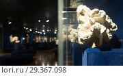 Купить «Ancient sculptures in Museum of History of Budapest», фото № 29367098, снято 29 октября 2017 г. (c) Яков Филимонов / Фотобанк Лори