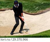 Купить «Sports stars and celebrities join professional golfers at the BMW PGA Championship pro-am at Wentworth Golf Club Featuring: Pep Guardiola Where: Wentworth...», фото № 29370966, снято 23 мая 2018 г. (c) age Fotostock / Фотобанк Лори
