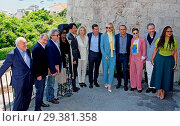 Купить «71st annual Cannes Film Festival - Jury Press Lunch Featuring: Chang Chen, Léa Seydoux, Mayor of Cannes, David Lisnard, Cate Blanchett, Kristen Stewart...», фото № 29381358, снято 16 мая 2018 г. (c) age Fotostock / Фотобанк Лори