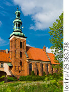 Купить «Old landmark Sw. Jana Chrzciciela is located in Gniezno, Poland», фото № 29383738, снято 11 мая 2018 г. (c) Яков Филимонов / Фотобанк Лори