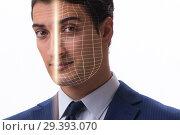 Купить «Concept of face recognition software and hardware», фото № 29393070, снято 12 ноября 2018 г. (c) Elnur / Фотобанк Лори