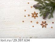 Купить «New Year and Christmas background», фото № 29397634, снято 4 ноября 2018 г. (c) Мельников Дмитрий / Фотобанк Лори