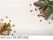 Купить «New Year and Christmas background», фото № 29397642, снято 4 ноября 2018 г. (c) Мельников Дмитрий / Фотобанк Лори