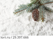 Купить «New Year and Christmas background», фото № 29397666, снято 4 ноября 2018 г. (c) Мельников Дмитрий / Фотобанк Лори