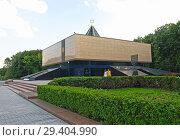 Мемориальная синагога на Поклонной горе. Москва (2006 год). Редакционное фото, фотограф Ирина Борсученко / Фотобанк Лори