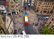 Купить «View from the top of Carfax Tower to the center of the Oxford city. Oxford University. England», фото № 29410786, снято 15 мая 2009 г. (c) Serg Zastavkin / Фотобанк Лори