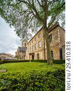 Купить «Linton House. St Peter's College. Oxford University. England», фото № 29410818, снято 15 мая 2009 г. (c) Serg Zastavkin / Фотобанк Лори
