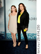 """Adrift"" Los Angeles Premiere held the Regal L.A. Life Theatre in... (2018 год). Редакционное фото, фотограф Adriana M. Barraza / WENN.com / age Fotostock / Фотобанк Лори"