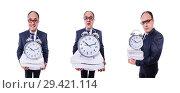Купить «Man not meeting his deadlines», фото № 29421114, снято 18 марта 2013 г. (c) Elnur / Фотобанк Лори