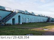 Купить «Батарея Брылкин, форт Константин, Кронштадт», фото № 29428354, снято 4 ноября 2018 г. (c) Юлия Бабкина / Фотобанк Лори