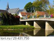 Купить «Traditional village of France», фото № 29431750, снято 8 октября 2018 г. (c) Яков Филимонов / Фотобанк Лори