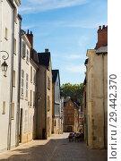 Купить «Orleans with old streets and medieval buildings», фото № 29442370, снято 9 октября 2018 г. (c) Яков Филимонов / Фотобанк Лори