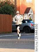 Купить «UKIP Leader Henry Bolton's Girlfriend Jo Marney Seen Jogging Near Her Parent's Family Home Featuring: Jo Marney Where: Maidstone, Kent, United Kingdom When: 12 Feb 2018 Credit: Steve Finn/WENN.», фото № 29444650, снято 12 февраля 2018 г. (c) age Fotostock / Фотобанк Лори