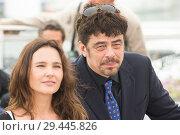 Купить «71st annual Cannes Film Festival - Un Certain Regard - Jury Photocall Featuring: Benicio del Toro, Virginie Ledoyen Where: Cannes, France When: 09 May 2018 Credit: Euan Cherry/WENN.», фото № 29445826, снято 9 мая 2018 г. (c) age Fotostock / Фотобанк Лори
