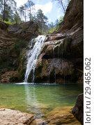 Купить «Pure mountain creek with green water», фото № 29465062, снято 7 мая 2017 г. (c) Яков Филимонов / Фотобанк Лори